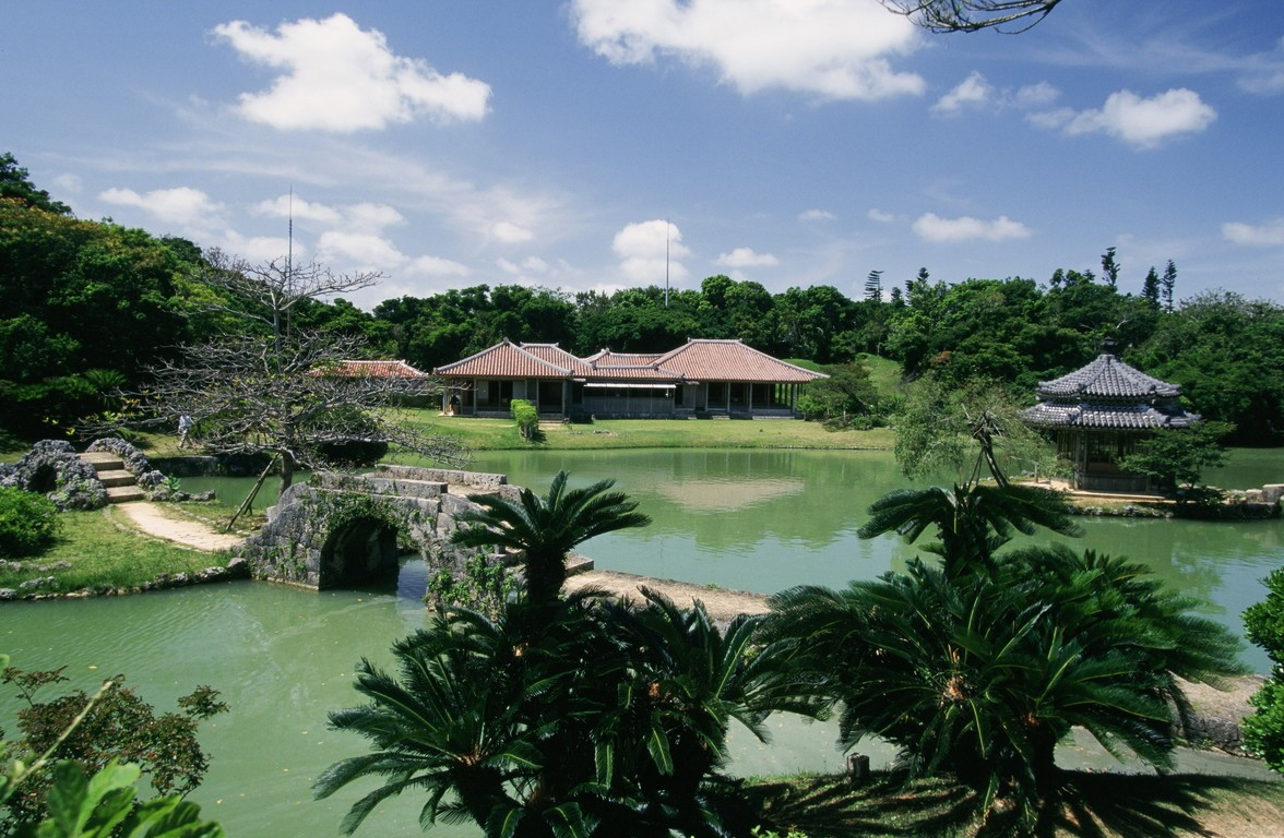 Royal gardens of Shikinaen, Naha